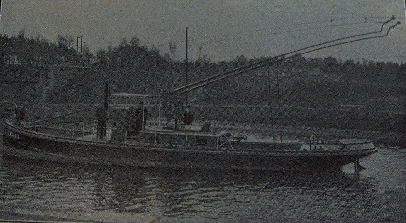 trolley barge