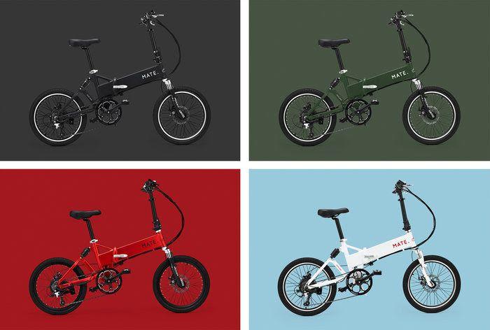 MATE folding e-bike
