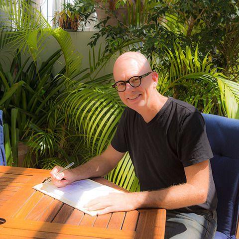 Steve in Garden