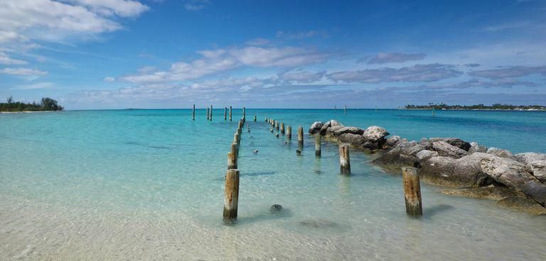Jaws Beach in New Providence Bahamas