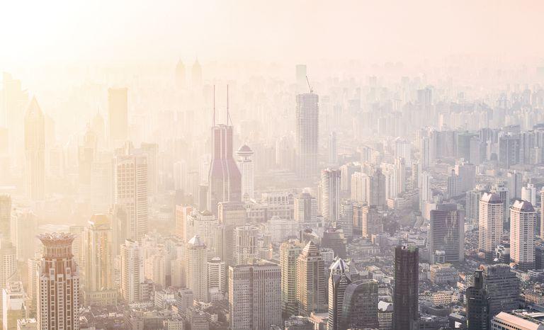 shanghai air pollution