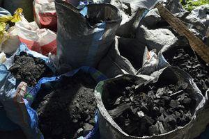 bags of biochar