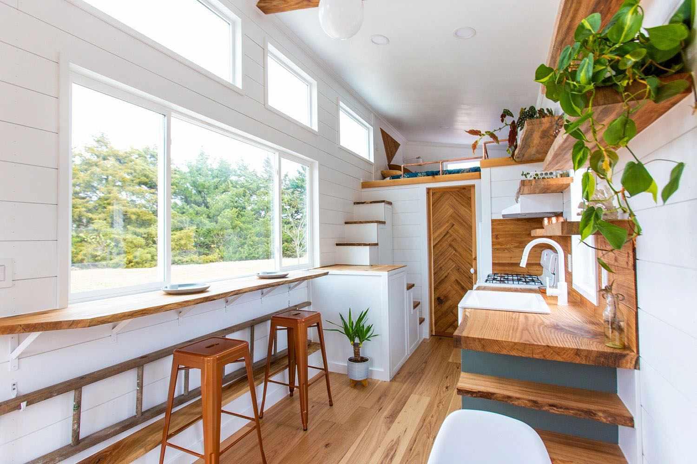 tiny house sycamore made relative exterior tiny house sycamore made relative view of dining area