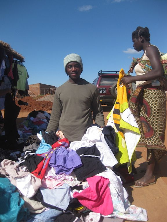second-hand clothes in Africa