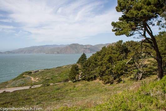 San Francisco Presidio view