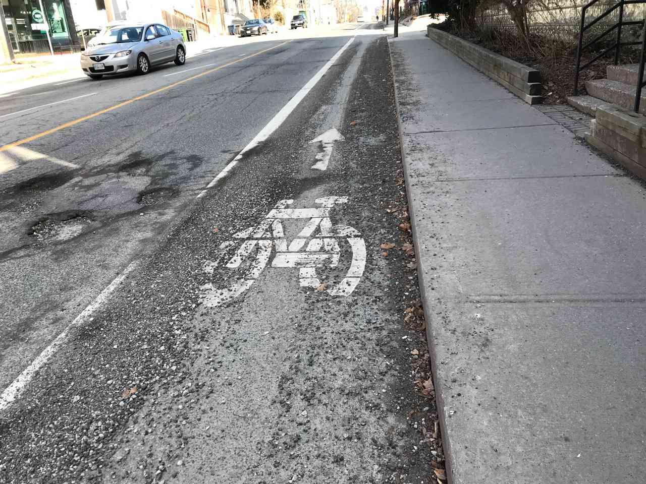 harbord bike lane