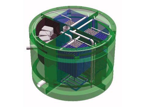 biokube septic tank image