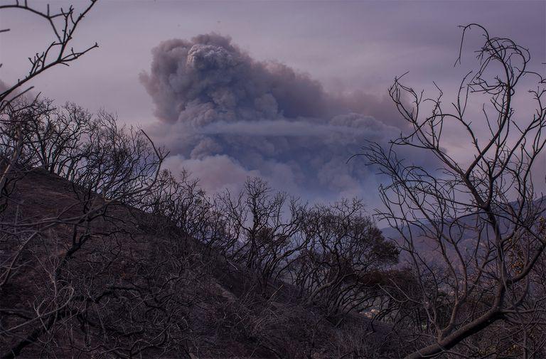 Los incendios forestales de California están generando nubes de 'fuego'