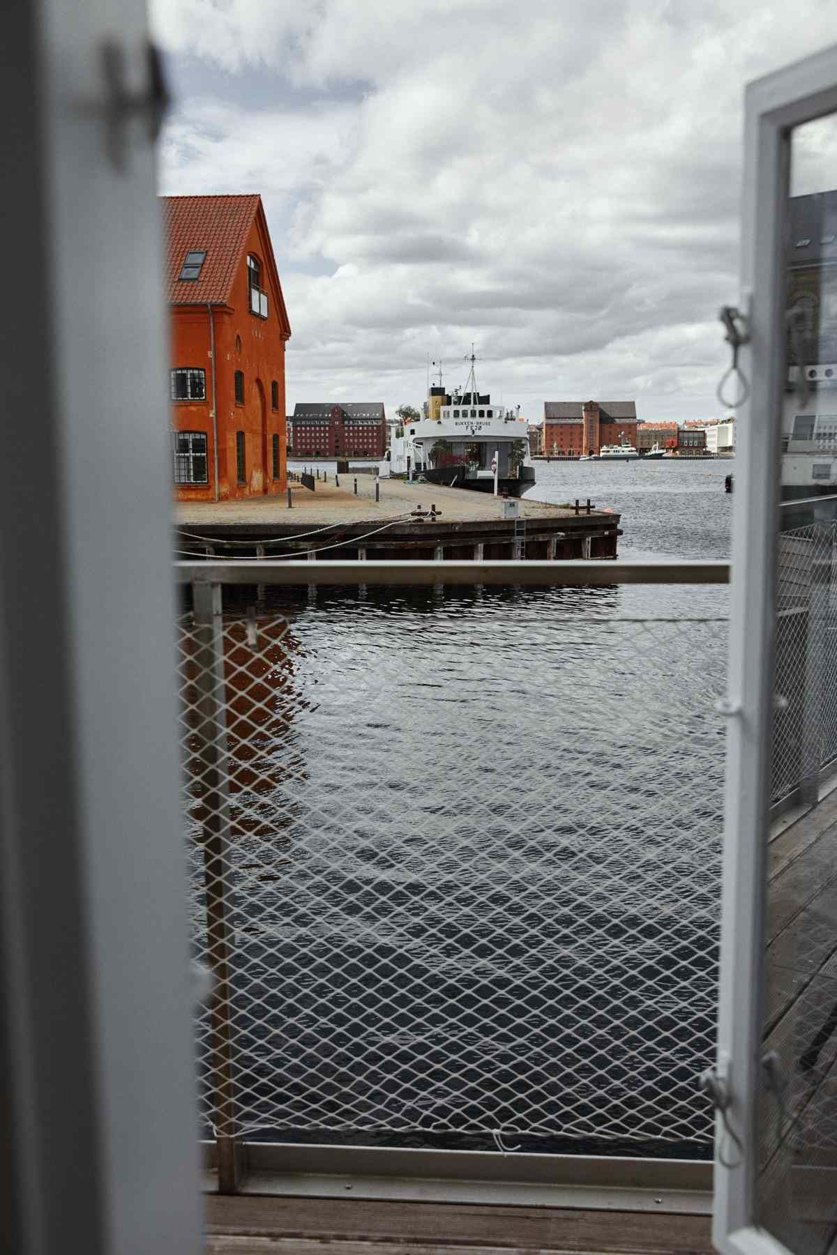 Copenhagen Harbor from KAJ Hotel