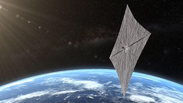 Por qué la vela solar de Bill Nye es importante para el futuro de los viajes espaciales