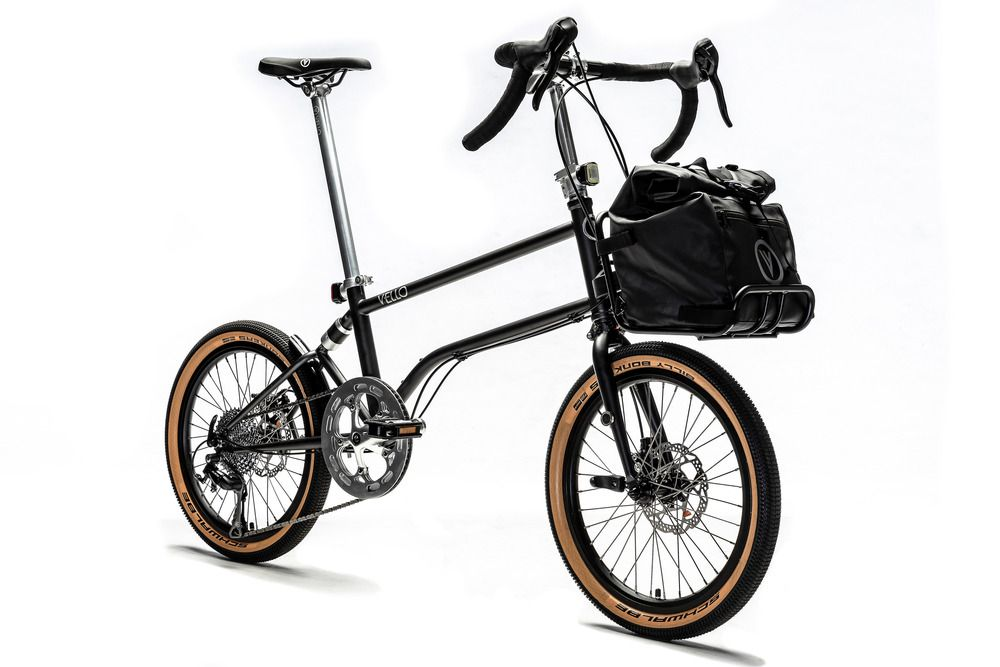 Vello bike with carrier