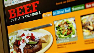 Beef for Dinner advertisment