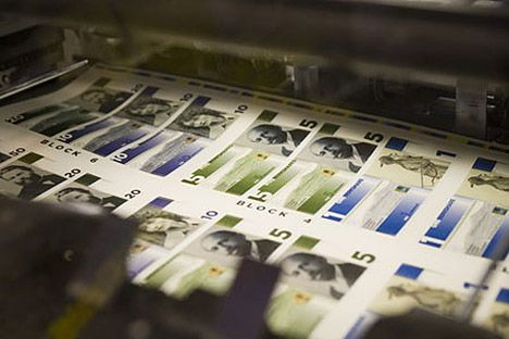 berkshares being printed photo