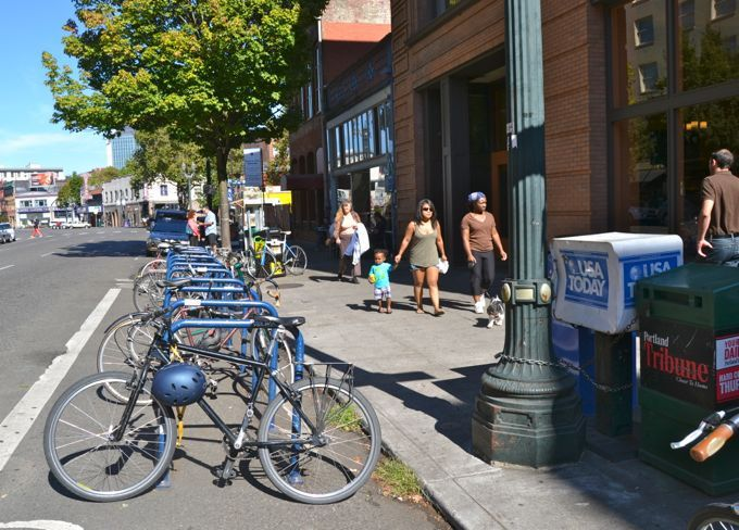 two cities find thriving bike economy