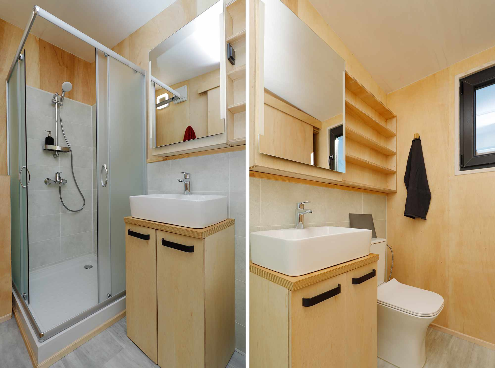 EBH 659 tiny house Ecobox Home Ltd. bathroom