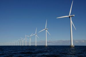 Green Hydrogen is made from wind power