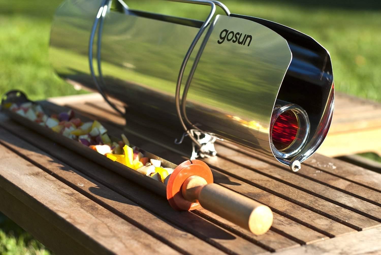 GoSun Stove grilling