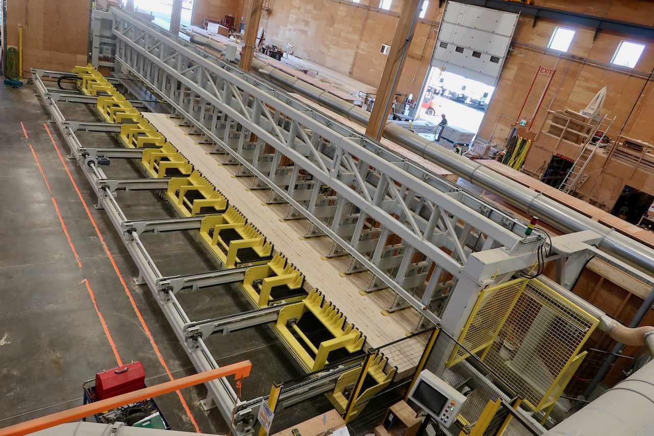 DLT machine in a factory warehouse