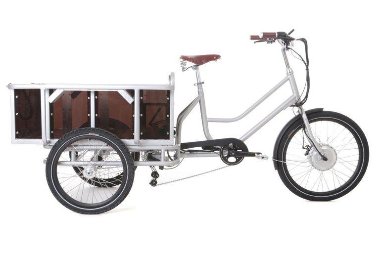 El triciclo de carga eléctrico movE de Sanitov cuesta $ 1595 y puede transportar 440 libras