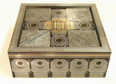 vintage circuit boards image