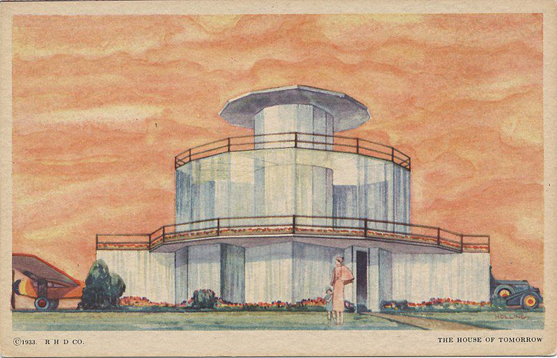 Artist rendering House of tomorrow