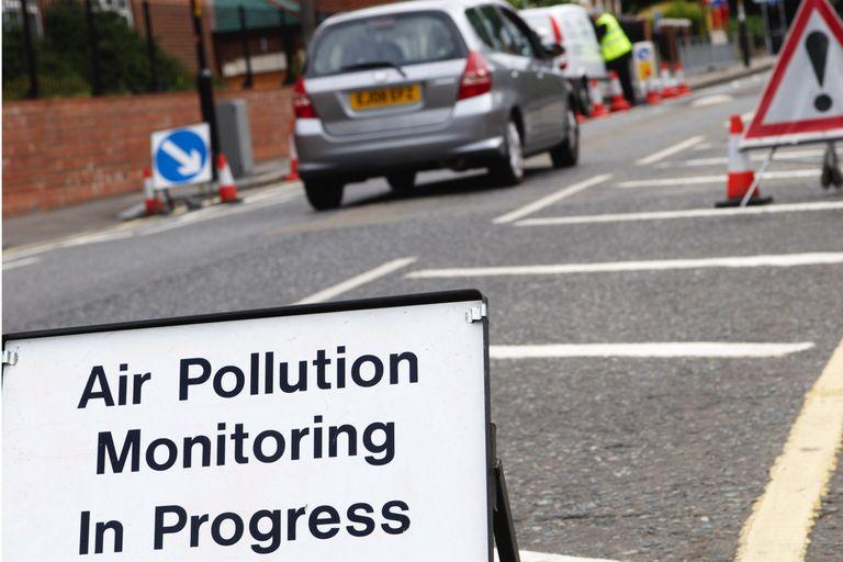 Air pollution monitoring in Progress