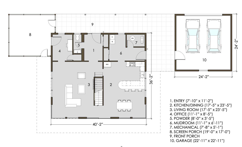 Ground Floor Plan Livinghome2
