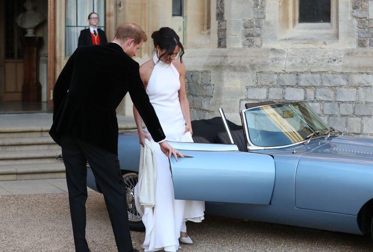 Royal Wedding Destacado Jaguar E-Type Concept Zero totalmente eléctrico