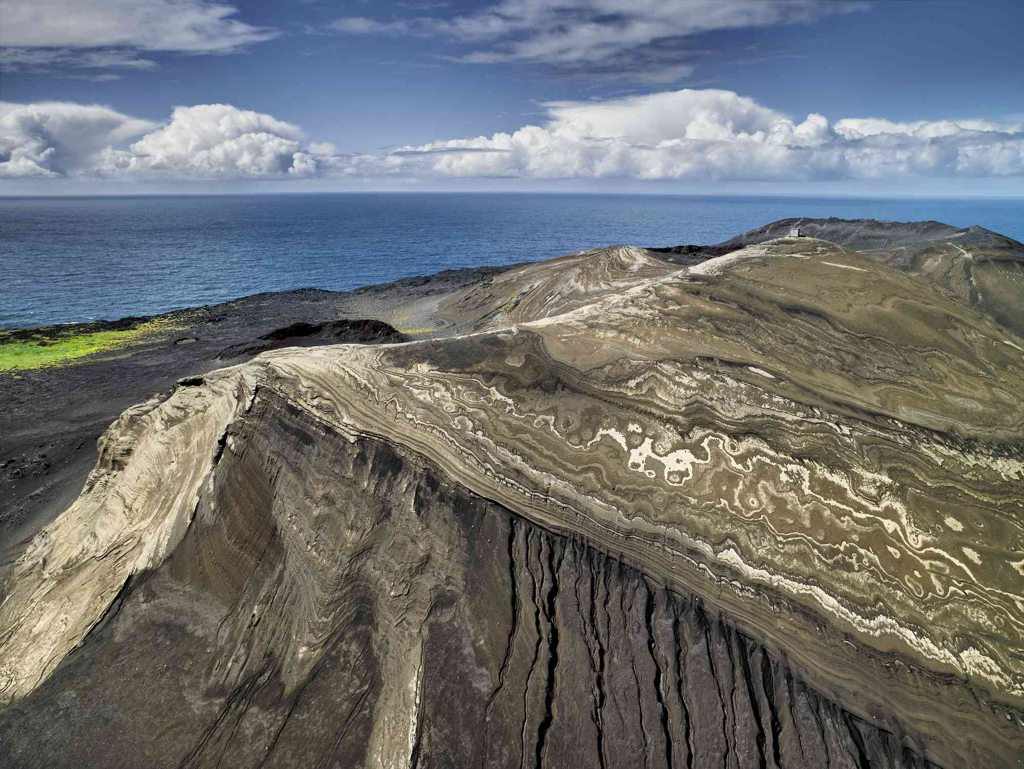Surtsey Island, a volcanic island off the southern coast of Iceland