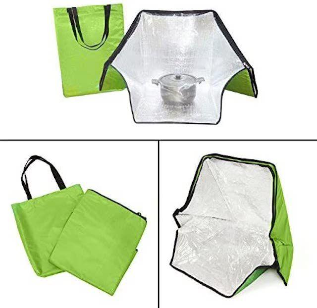 Jwn Green Portable Solar Oven Bag