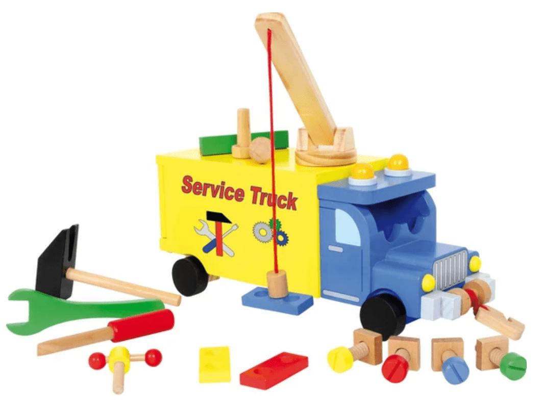 Legler Construction Vehicle Wooden Toy