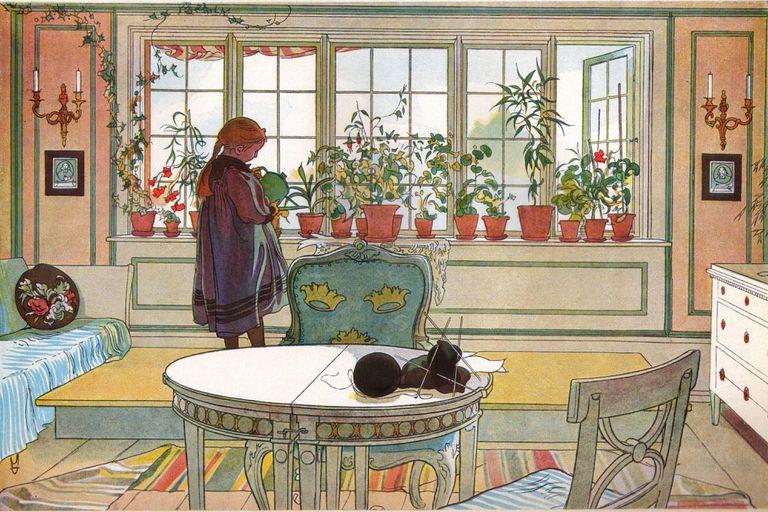 Carl Larsson windows in 1894