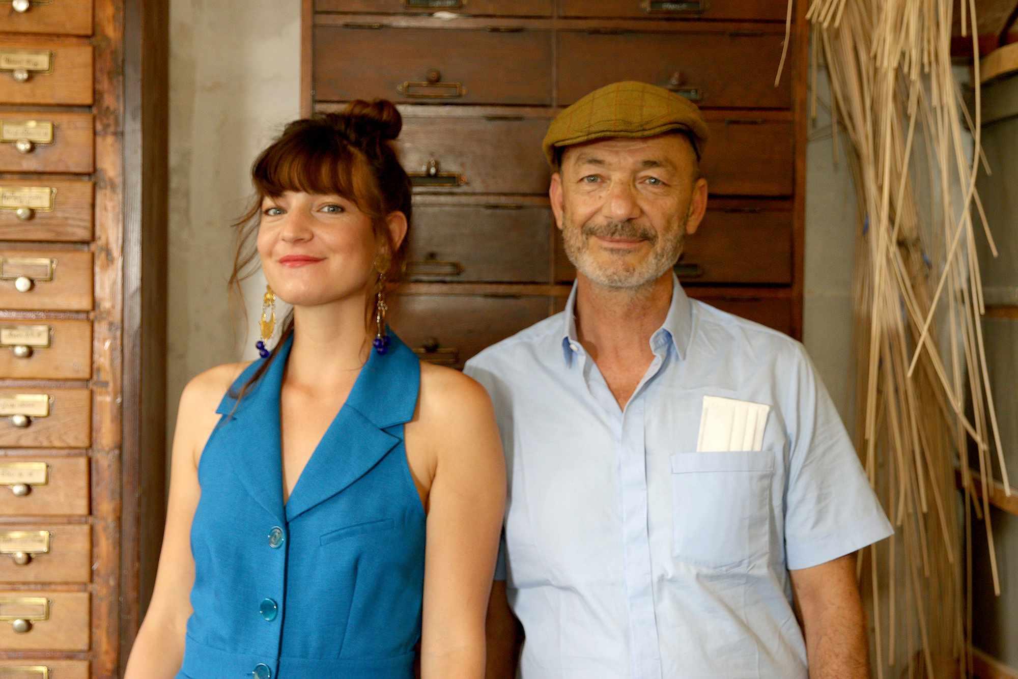 Natacha and Elie Seroussi