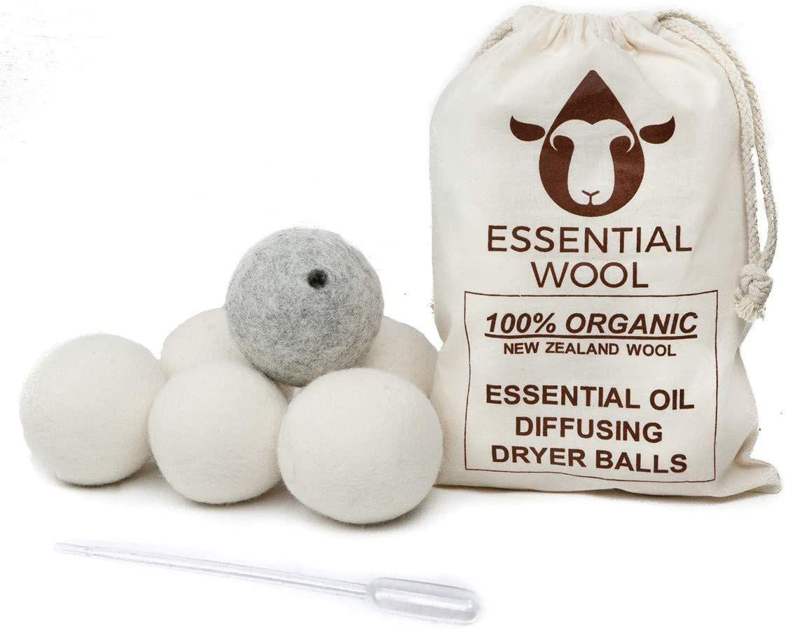 Essential Wool Essential Oil Dryer Ball Set