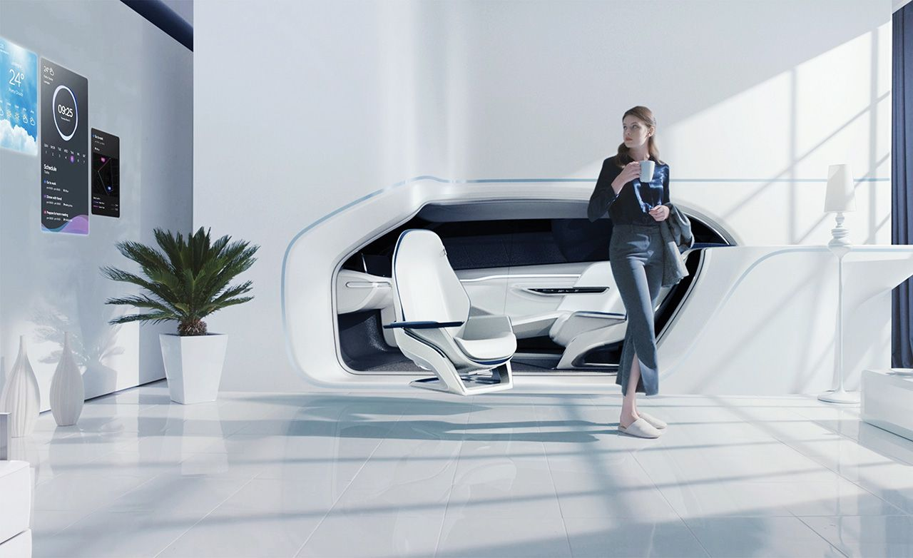 Hyundai car connects to your living room