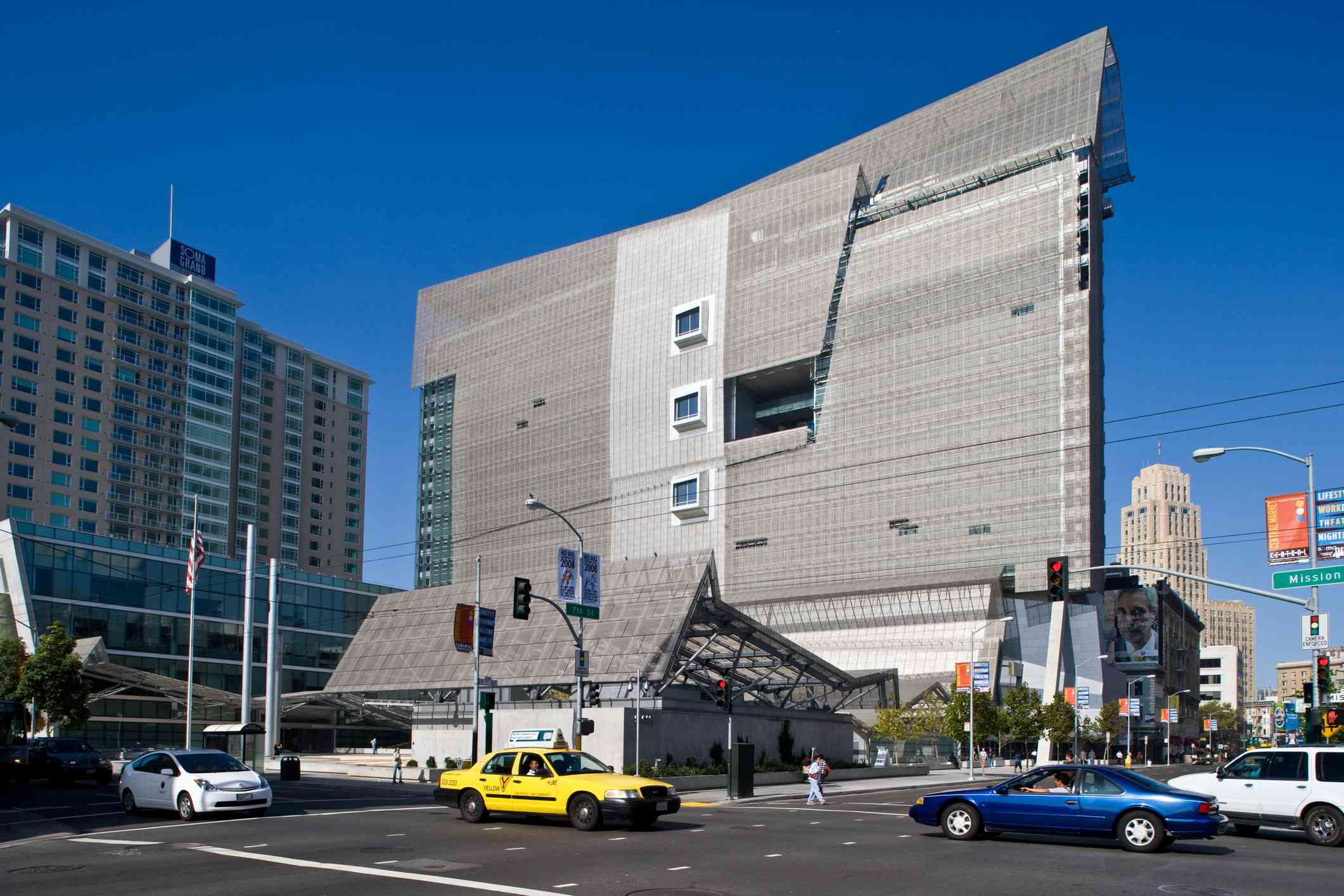The San Francisco Federal Building, an eighteen story concrete and metal