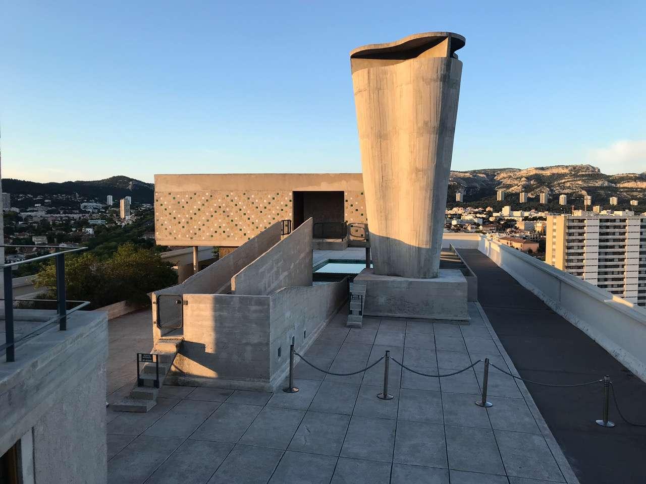 Roof of the Unite d'Habitation