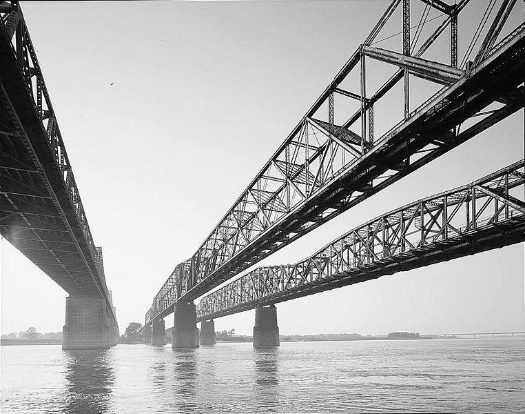 Three bridges in Memphis