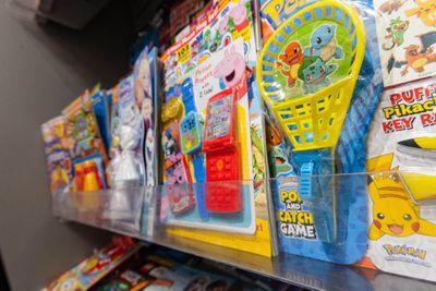 Waitrose plastic toys