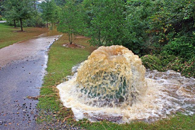 sewer overflow georgia photo