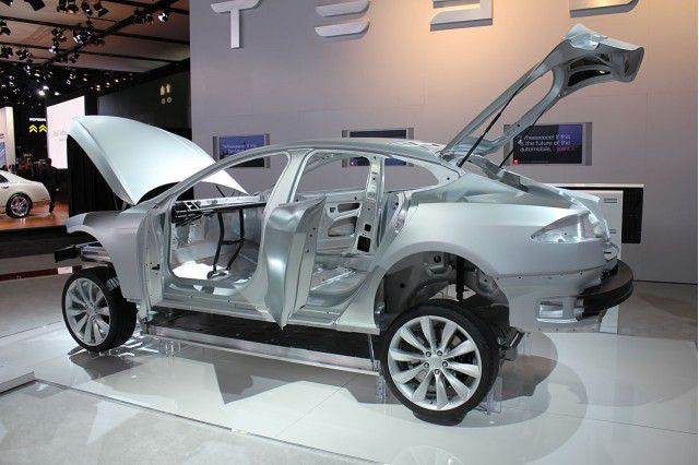 Tesla Aluminum frame