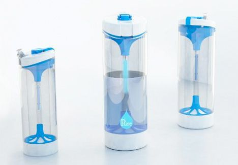 pure water bottle image
