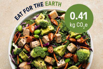 carbon footprint of dinner