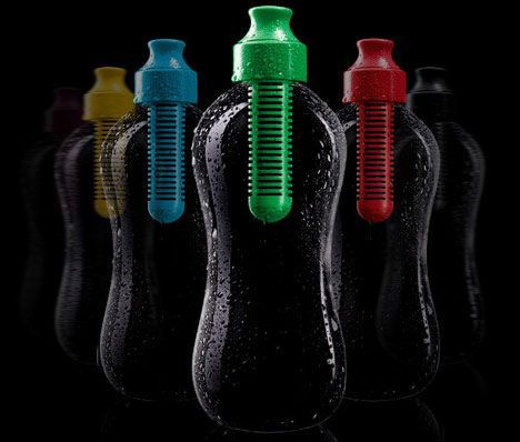 water bobble bottles photo