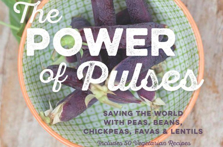 Nuevo libro: 'El poder de las legumbres: salvar el mundo con guisantes, frijoles, garbanzos, favas y lentejas'