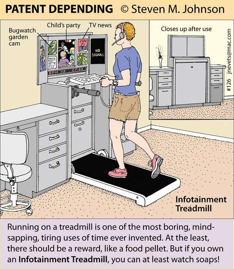 Treadmill Desk concept