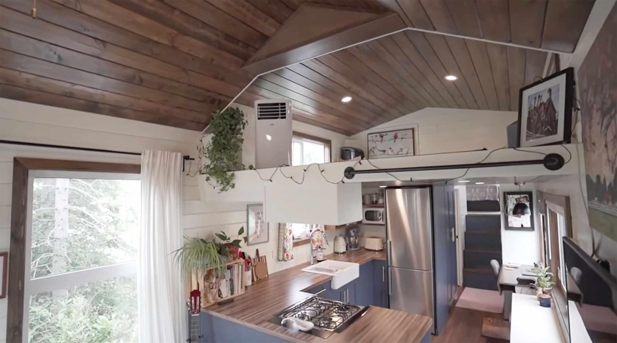 Serendipity tiny house loft