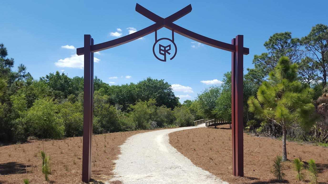 Walking trail, Babcock Ranch