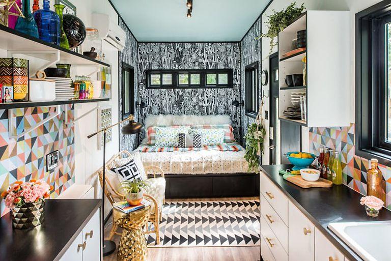 Viva 'maximalista' Tiny House sugiere que 'más es más'