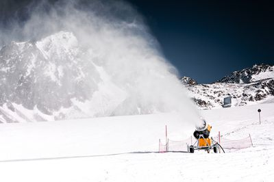 Snowmaking equipment